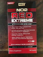 NO2 Red EXTREME 150 tablets, ALL DAY PUMP  Stimulant FREE Pre workout HUGE SALE