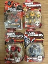 TRANSFORMERS GENERATIONS FOC OPTIMUS PRIME BUMBLEBEE CLIFFJUMPER SOUNDWAVE