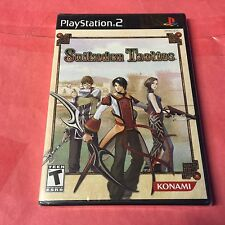 SUIKODEN TACTICS Playstation 2 PS2 -Strategy, RPG, Rare, 3Pics, Sealed -NEW