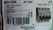 INTERRUPTEUR   4P 125A SCHNEIDER    Switch