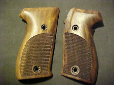 Pistol Grips for SIG SAUER P225 P6  Fine English Walnut Fancy Checkered NEW!