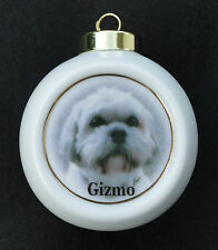 Custom Pet Ornament *YOUR PHOTO* Christmas, Family, Friends, Memorial, Holiday