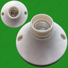 Small Edison Screw Socket SES E14 Light Bulb Holder Lamp Surface Fixing Base