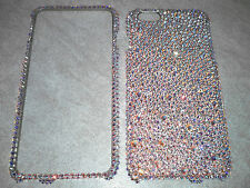 Crystal Bling RARE AB Bumpie Case For IPHONE  7 4.7 W 100% SWAROVSKI  Crystals