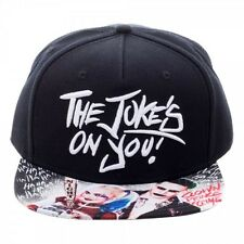 OFFICIAL DC COMICS SUICIDE SQUAD THE JOKER 'THE JOKE'S ON YOU!' SNAPBACK CAP