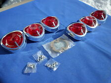 NEW 1962 Chevrolet Chevy Impala BelAir Biscayne Tail Light Lamp Base & Lens Lot