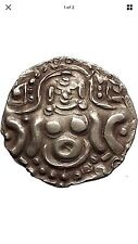 1114AD INDIAN Gahadavalas of Kannauj  Govindachandra Lakshmi GOLD coin i56381
