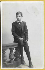 Edwardian era Postcard - Very smartly dressed young lad.