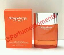 CLINIQUE HAPPY * Cologne for Men * 3.4 oz * BRAND NEW IN RETAIL BOX SEALED