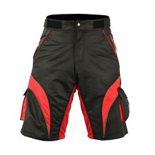 Deckra Mens Cycling MTB Short Coolmax Padded Off Road Shorts Free Liner
