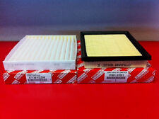 Toyota Prius/PriusV Air/Cabin Filter combo kit (2010-2013) Genuine Toyota Parts