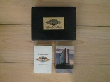 Box with Double Decks of Cards with plaque for Las Vegas Tropicana