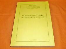 la politica culturale della toscana liliana del poeta stampa litografica 1994