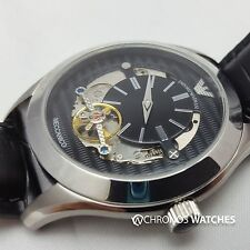 NEW Emporio Armani AR4640 Gents' Luxury Watch Meccanico A01B