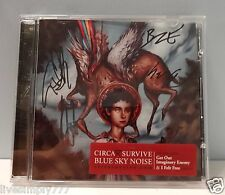 CIRCA SURVIVE SIGNED BLUE SKY NOISE AUTOGRAPH ALBUM CD MUSIC BAND ANTHONY GREEN