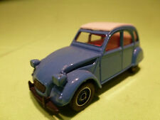 SOLIDO  1:43 CITROEN 2CV6 -  1301 -  FIRST EDITION   -  IN VERY GOOD CONDITION.