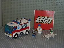 Set légo city 7890 AMBULANCE complet