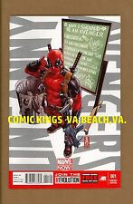 UNCANNY AVENGERS #1 DEADPOOL CALL ME MAYBE VARIANT NM/M UNCIRCULATED COMIC KINGS