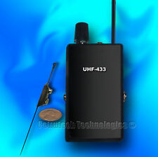 SET UHF SUPER RECEIVER + THE MOST POWERFUL BUG SPY EXTERNAL MICROPHONE !!!