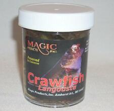 Magic Products/Brown Bear Preserved Crawfish Fishing Bait Catfish Bass Walleye