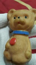 VINTAGE BEAR RARE RUBBER TOY MISHA FRIEND BUDDY 60's COMMUNIST RUSSIA CCCP USSR