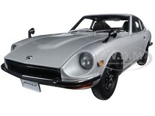 1969 NISSAN FAIRLADY Z432 (PS30) SILVER 1/18 DIECAST MODEL CAR BY AUTOART 77437