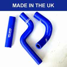 KAWASAKI KX85 KX80 KX100 SILICONE RADIATOR HOSES KIT WATER PIPES 1998-2013 BLUE