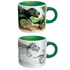 Disappearing Dinosaurs Heat Changing Mug Dino Coffee Tea Activated Color New