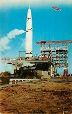 Chrome PC Air Force Missile Test Center Patrick Air Force Base FL, Thor Unposted