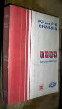 1994 94 GMC CHEVROLET PG P3 TRUCKS VAN CUTAWAY FACTORY SERVICE MANUAL GAS DIESEL