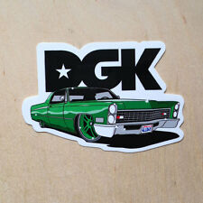 DGK skateboards g-ride vinyl sticker lowrider car bumper decal Dirty Ghetto Kids