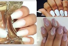BUY2GET1FREE* Natural Ballerina Coffin Nails 20pc Full Cover Crystalcherry USA!