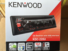 NEW Kenwood KDC-220U KDC-210U Car Stereo Head Unit USB + 3.5mm Aux 1 DIN CD Play