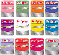 SCULPEY III / 3 POLYMER OVEN BAKE 57g MODELLING CLAY POLYFORM MOULDING BLOCK