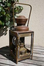 lanterne sncf SUPERBE LAMPE CHEMIN DE FER ANCIEN