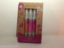 Stila music festival lip glaze trio -  1.5ml each