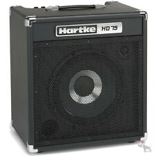 "Hartke HD75 75 Watt Solid State Bass Guitar Combo Amp w/ Single 12"" HyDrive"