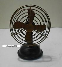 """Vintage Nautical Working Table Fan Collectable in Brass 6"""" Antique Table Fan."""