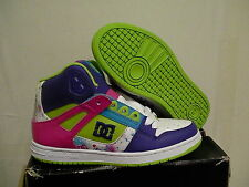 Women's dc skate shoes rebound hi size 7 us new