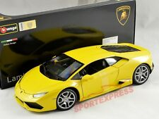 NEW 1/18 Bburago 18-11038Y Lamborghini Huracan LP610-4, yellow