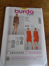 "PATRON  ""BURDA  "" 2 VERSIONS ROBE CHIC    T 36 A 50  N°7206 NEUF"