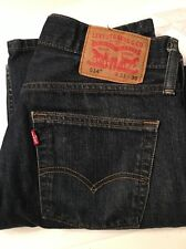 Levis 514 Men's Slim Straight Denim Jeans 31 x 30