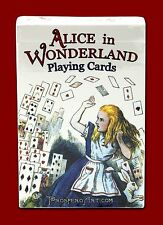 Alice in Wonderland Playing Cards - Red Deck - Lewis Carroll - Cheshire Cat