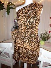 Mini Vestido River Island Tiger Leopard Print Fiesta Sexy Inteligente Citricos-Reino Unido 10