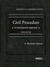 Civil Procedure, A Contemporary Approach, 3d (The Interactive Casebook)
