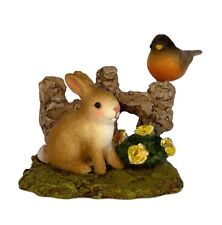 SPRING BUNNY & ROBIN Accessory by Wee Forest Folk, WFF# A-37, New for 2016