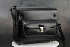 - Nikon Black Leather Gadget Bag w Camera Cradle & Lens Sockets, for F, F2