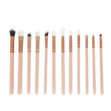12Pcs Cosmetic Brush Makeup Brush Lip Powder Brushes Sets Kits Tools Gold NEW
