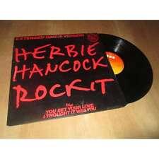 "HERBIE HANCOCK rockit - extended dance version - MAXI 45T 12"" CBS 1983"