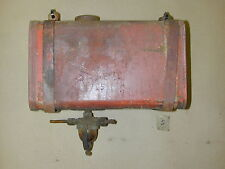"Vintage Red Simplicity 725 Riding Lawn Mower Gas Tank 11"" x 6.5"" x 6"" OEM"